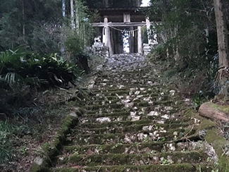 三島神社参道石段